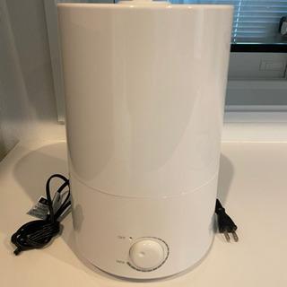 超音波加湿器 ホワイト