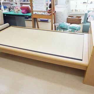 【ネット決済】【値下げ!】畳ベッド☆シングルサイズ☆枕元収納付...