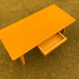 HK-592⭐️説明文必読‼️引き出し付き ローテーブル