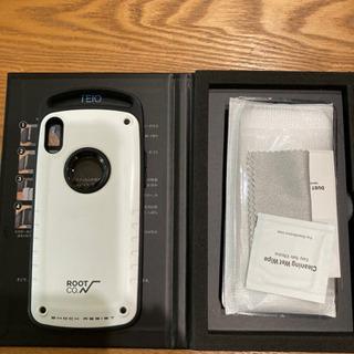 【ネット決済】《価格改定》iPhoneX Rootカバー&ガラス...
