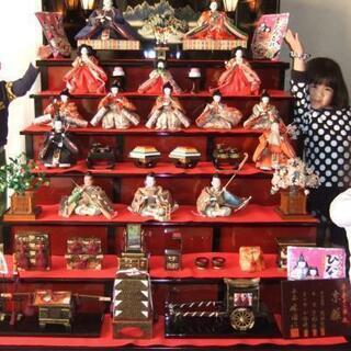 木製7段飾り 雛人形 漆塗り 豪華オマケつき
