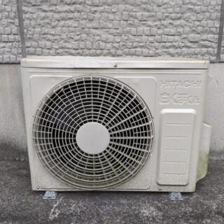 エアコン 日立2015年製 - 家電