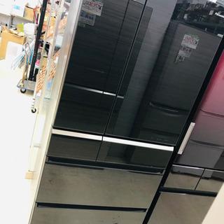 17年製 Panasonic パナソニック 6ドア冷蔵庫 NR-...