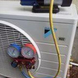 中古・新品のエアコン取り付けいたします。