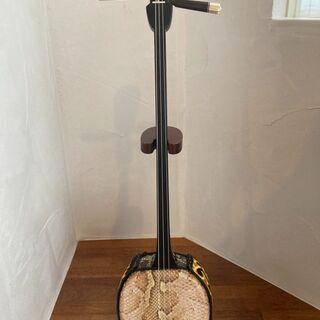 【限定1挺】教室使用で良く鳴る本皮強化張り三線