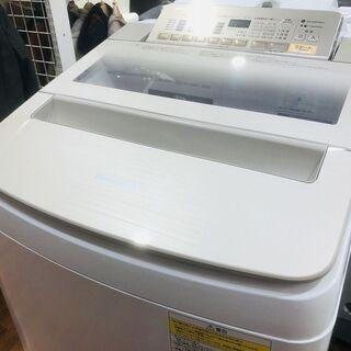 パナソニック 乾燥機能付洗濯機 8キロ入荷
