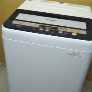 【配達出来ます!】★美品★2013年 Panasonic 6kg電気洗濯機の画像
