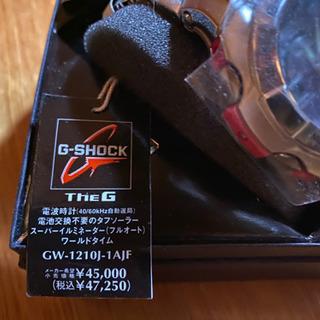 CASIO ソーラー腕時計・G-SHOCK GW-1210J-1AJF
