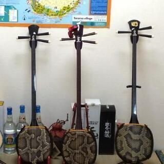 滝の茶屋の三線・竹笛教室です🎶