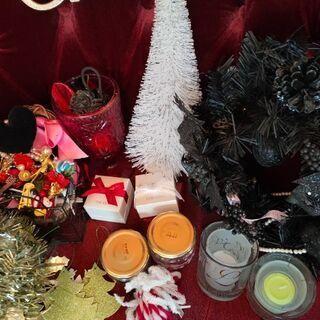 キャンドル ミニクリスマスツリー 高級リース