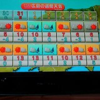 B-CASカード付 2015年製 19型DVD内蔵テレビ  WS-TV1919DVB の画像
