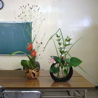 草月流いけばな教室 月曜午前クラス|久留米毎日文化教室