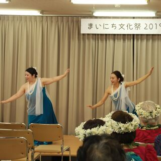 フラダンス教室 土曜午後クラス 久留米毎日文化教室