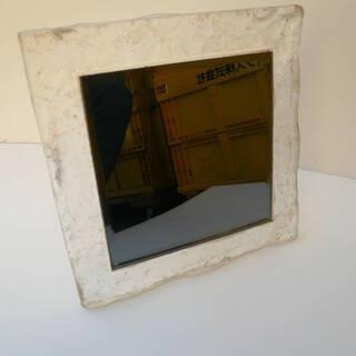 卓上鏡 スタンドミラー 卓上ミラ- ガラス