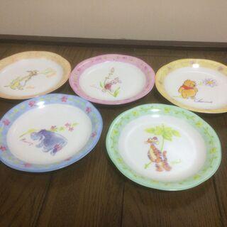 【無料】くまのプーさんの中皿 5枚 (10)の画像