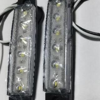 【ネット決済・配送可】LED サイドマーカー 12V 2個セット...