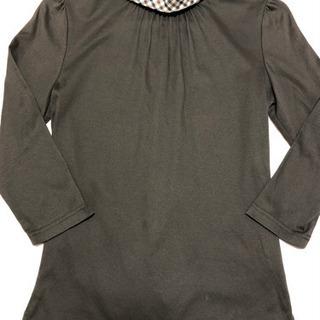 『La zozotte』の襟付きシャツ(ソフト伸縮生地)