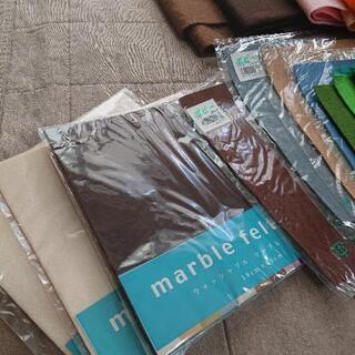 決まりました。値下げ!新品あり。手芸フェルト材料大量 - 広島市