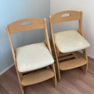 【ネット決済】子供 椅子 二脚