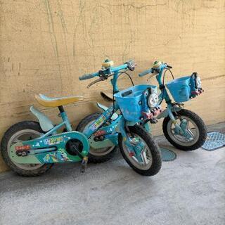 トーマス 幼児用自転車 2台