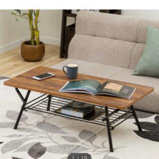 ニトリ おりたたみテーブル - 家具