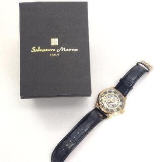 サルバトーレマーラ 16101GDBK 時計 手巻き