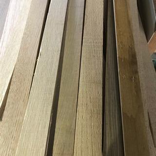 2束あり DIY ホワイトオーク 無垢材 端材 板材 リフォーム 家具