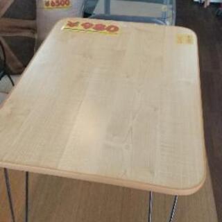 ニトリ 折り畳みテーブル 幅65センチ! 他のもたくさんあります...