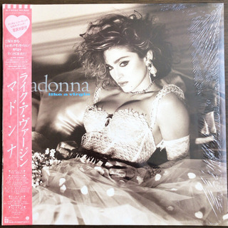 madonna - like a virgin LP レコ…