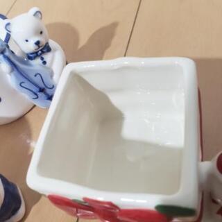 美品 くまさんカップ 5点セット − 愛知県