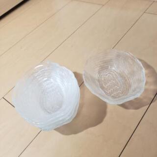 美品 ガラス 木目調 フルーツ皿 5個セット - 名古屋市