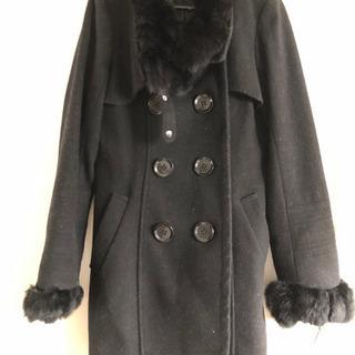 【ネット決済】レディース コート 黒 美品
