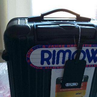 これも未使用です。旅行カバンです。