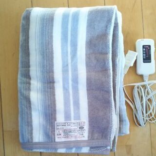 【ネット決済】電気毛布 2000円 ほぼ未使用
