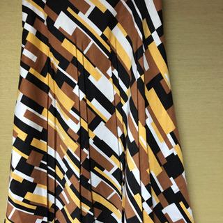 GIO SPORT 柄スカートサイズ40