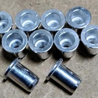 アルミナットm6 10個 ナッター リベット カシメナット