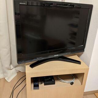 東芝32型テレビ+Francfrancテレビ台 セット