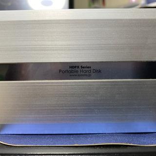 ポータブルハードディスク 40GB【IODATA】