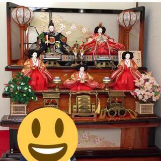 【ネット決済】ひな人形 3段飾り