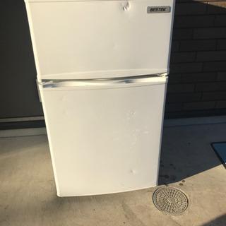 2ドア 冷蔵庫 BTMF211 2017年製 配送無料