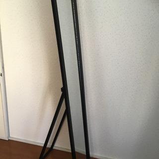 全身鏡 不二貿易 木製スタンドミラー