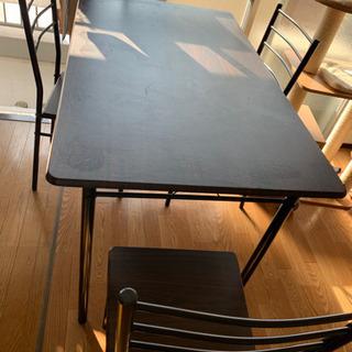 ダイニングテーブル(4人掛け用)5点セットの画像