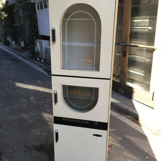 ★昭和レトロ 関西理器工業所 ステリライザー STERILIZE...