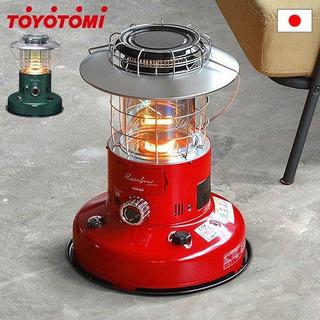 【ケース付】トヨトミ レインボーストーブ(赤) - 仙台市