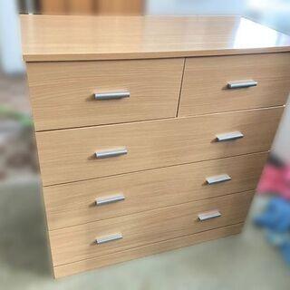 シンプル タンス 衣類収納 家具 4段 ナチュラル 木製 …
