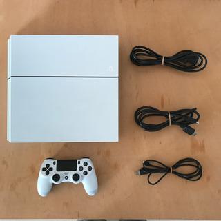 PS4本体と付属品、コントローラー