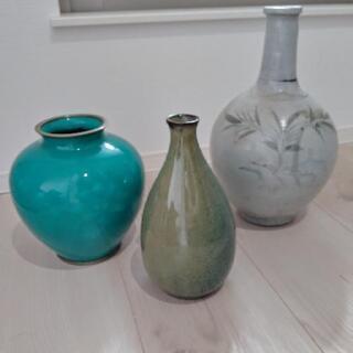 ②花瓶★花器★骨董品屋さんで高価で買った花瓶です。  まだ…
