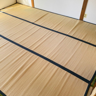 い草 ラグ 江戸間6畳 261×352cm と団地間4.5畳の画像
