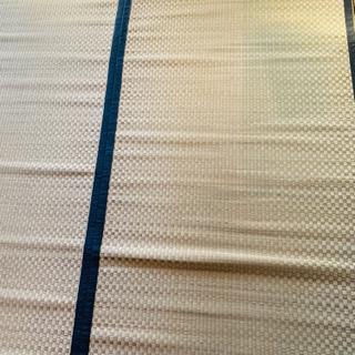 い草 ラグ 江戸間6畳 261×352cm と団地間4.5畳 - 世田谷区
