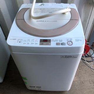 k0131-17  SHARP シャープ 洗濯機 ES-GE7A...